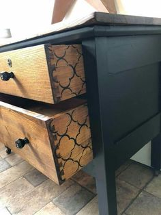 Chest Of Drawers Makeover, Vintage Furniture, Refinished Furniture, Upcycle, Home, Upcycling, Repurpose, Ad Home, Homes