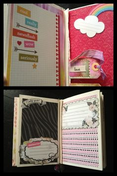 CUSTOM Scrapbook BFF Theme Journal Smashbook Best by PaperLuxuries, $150.00 Little girl scrapbook. Gift for your girls