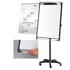 Mastervision Marker Tray Magnetic Casters Flipchart Easel