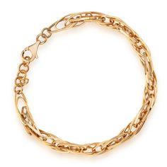 Bejewel.me ● Złota bransoletka ● http://bejewel.me/zlota-bransoletka ● #jewellery #gold #accessories #summer #details #bejewelme #bracelet