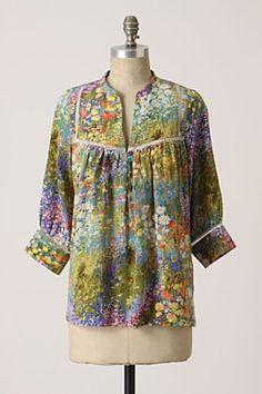 Flowering Pasture blouse