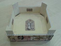Caja fresas decorada