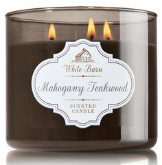 Bath & Body Works' Mahogany Teakwood Candle
