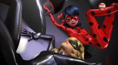 Prodigiosa: las aventuras de Ladybug. Temporada 1 capítulo 15. Gamer. Aawww Cat Noir
