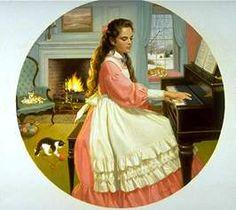 LITTLE WOMEN 4 - Beth behind her piano