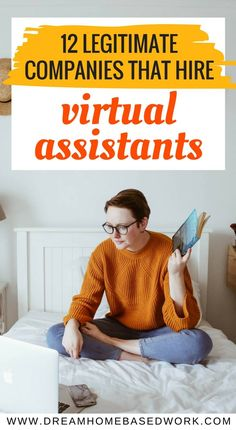 Seeking a way to work from home as a Virtual Assistant but worried about scams? Here's a list of 12 Legitimate Companies that Hire Virtual Assistants to Work from Home. Home Based Work, Work From Home Moms, Home Party Business, Home Based Business Opportunities, Business Ideas, Business Essentials, Virtual Assistant Jobs, Online Jobs From Home, Online Work