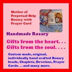 MOTHER OF PERPETUAL HELP ROSARY