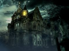 haunted house painting - Yahoo Image Search Results