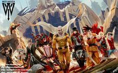 One punch man, Attack on titan, Dragon Ball Super, Fullmetal Alchemist Brotherhood, One Piece, Kill La Kill, Bleach, Fairy Tail, Sword Art Online, Naruto Shippuden