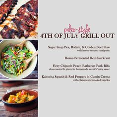 fourth of july grill ideas