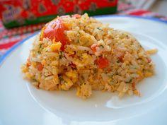 Španělská rýže ~ Kristina Čechová Grains, Food, Essen, Yemek, Meals