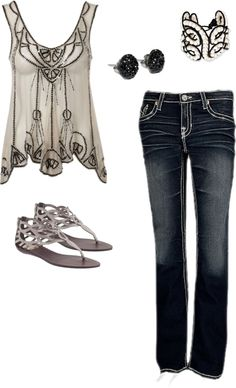 7 o'clock-ish, created by jmoserhardy on Polyvore