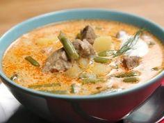 Palócleves SPAR konyhájából | NOSALTY Cheeseburger Chowder, Pork, Recipes, Soups, Oxford, Kale Stir Fry, Food Recipes, Rezepte, Soup