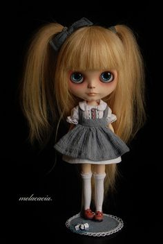 Elise ~ Little Human Girl.  Melacacia custom #87