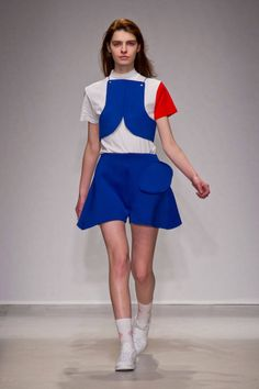 Jacquemus F/W 2014 The boxy-ness of this rocks my world. Love it.