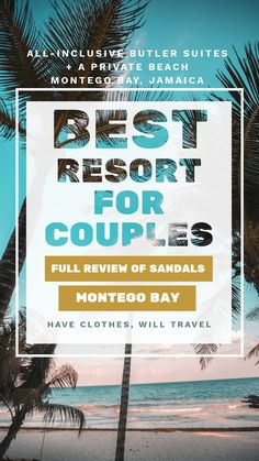 Sandals Montego Bay Resort Review - All-Inclusive Luxury Stay With Butler Service. This post is breaking down our honest review of the resort and detailed experience staying at Sandals Montego Bay. I'll also be answering some frequently asked questions about this resort too! #jamaica #montegobay #vacation #resortreview #sandals #sandalsresorts #luxury