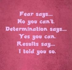It ALL Depends on whether you except the fear or buckle down to the determination. #fitnesspictures #FitnessPictures