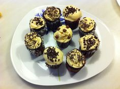 Chocolate cupcakes with dulce de leche icing Baked by me ; Chocolate Cupcakes, Icing, Muffin, September, Breakfast, Food, Gourmet, Dulce De Leche, Meal