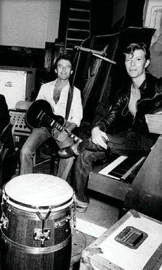 David Bowie Hansa Studios Berlin 1977