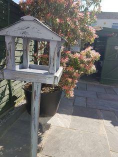 Shabby bird table.