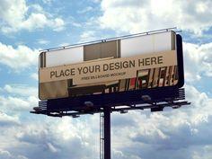 Beautiful Free Billboard Mockup PSD 18 Free Outdoor Advertisment Branding Mockup PSD Files