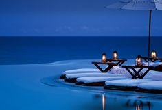 Top 20 Private Hotel Pools, #17 Las Ventanas al Paraiso, Mexico.. this pool has rich bends and the best area right on the sea. www.rosewoodhotels.com