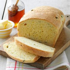 Arizona Corn Bread Recipe - from Taste of Home - makes 2 loaves. Cornmeal, sourcream, jalapenos, monterey jack cheese, and creamed corn.