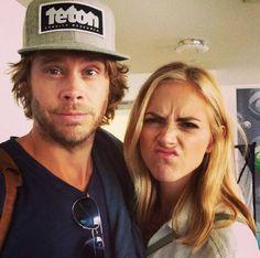 NCIS: Los Angeles Season 6 Behind The Scenes - Emily Wickersham and Eric Christian Olsen #NCISLA #NCIS