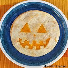 Make Jack-o'-Lantern Quesadillas for Halloween - from Ranger Rick Jr. Crazy Food, Weird Food, Quesadillas, Ranger, Jr, Special Occasion, Food Ideas, Wildlife, Magazine