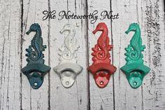 Cast Iron bottle opener // Nautical bottle by TheNoteworthyNest, $7.99