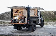 A 4wd coffee truck - getting people their caffeine fix off road!