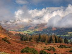 Striking autumn colours in the vale of Grasmere, the English Lake District - photo copyright is www.lovethelakes.net