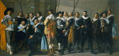 The Meagre Company by Frans Hals.