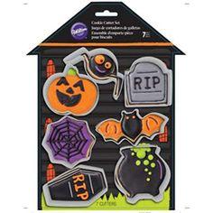 Haunted House 7 Piece Cookie Set Halloween Cookie Cutters, Halloween Cookies, 7 And 7, House, Haus, Home, Homes