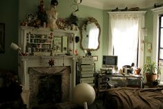 An image on imgfave Pretty Room, Interior Design, House, Fireplaces, Inspiration, Bliss, Furniture, Bedrooms, Cozy