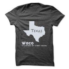 Waco - Texas - Its Where My Story Begins ! Ver 2 - #linen shirt #wholesale sweatshirts. THE BEST => https://www.sunfrog.com/States/Waco--Texas--Its-Where-My-Story-Begins-Ver-2.html?60505