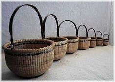 Beautiful Nantucket baskets - Timothy Parsons, Nantucket Lightship Baskets