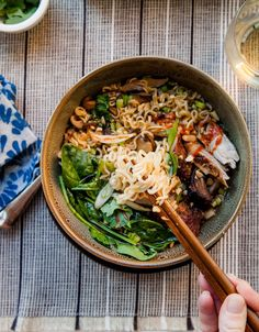 Ramen Recipe: How to Build an Asian Noodle Bowl by Katie Workman of The Mom 100 for Discover, A World Market Blog. #discoverworldmarket