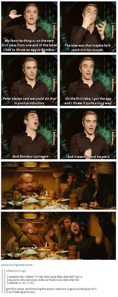Actor James Nesbitt (Bofur, The Hobbit trilogy)