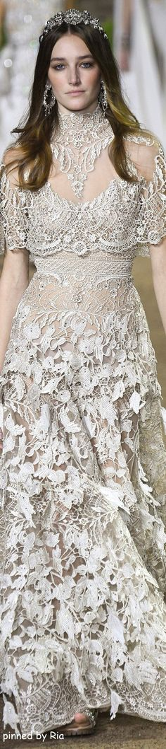 Sheath Wedding Dress : Elie Saab Spring 2016 Couture l Ria jαɢlαdy