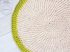 "How to crochet my ""Notting Hill"" stitch in a round - 1st rnd demo - YouTube"