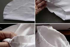 French Seams For the Armhole/Sleeve Junction