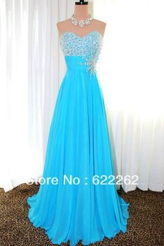 TONY BOWLS A LINE SWEETHEART FLOOR LENGTH TURQUOISE BLUE EVENING PAGEANT PROM FORMAL BALL GOWN DRESS