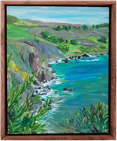 """Cliff's Edge"" by John Bucklin"