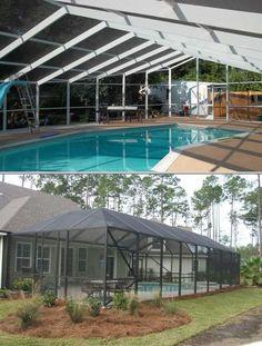 Pool Screen Enclosures Orlando No Blow Down Warranty