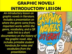 Graphic+Novels+Introduction+Lesson+from+Mz+S+English+Teacher+on+TeachersNotebook.com+-++(20+pages)++-+Graphic+Novels+Introduction+Lesson