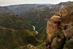 Barrancas del cobre en Chihuahua