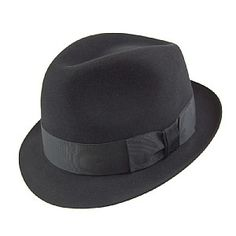 Christys Hats Pinch Vegas Trilby - Black 63dbd1beb59