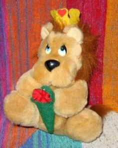 Plush Lion King toy by Applause