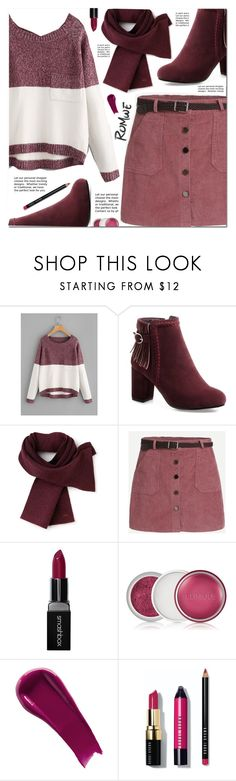 """""""Romwe"""" by pankh ❤ liked on Polyvore featuring Lacoste, Smashbox, Clinique, NARS Cosmetics, Bobbi Brown Cosmetics, men's fashion and menswear"""
